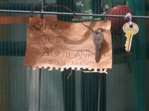 Chiavi a L'Aquila